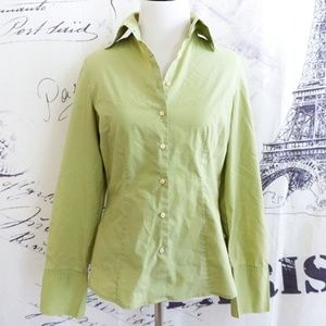 Merona Light Green Button-Down Shirt